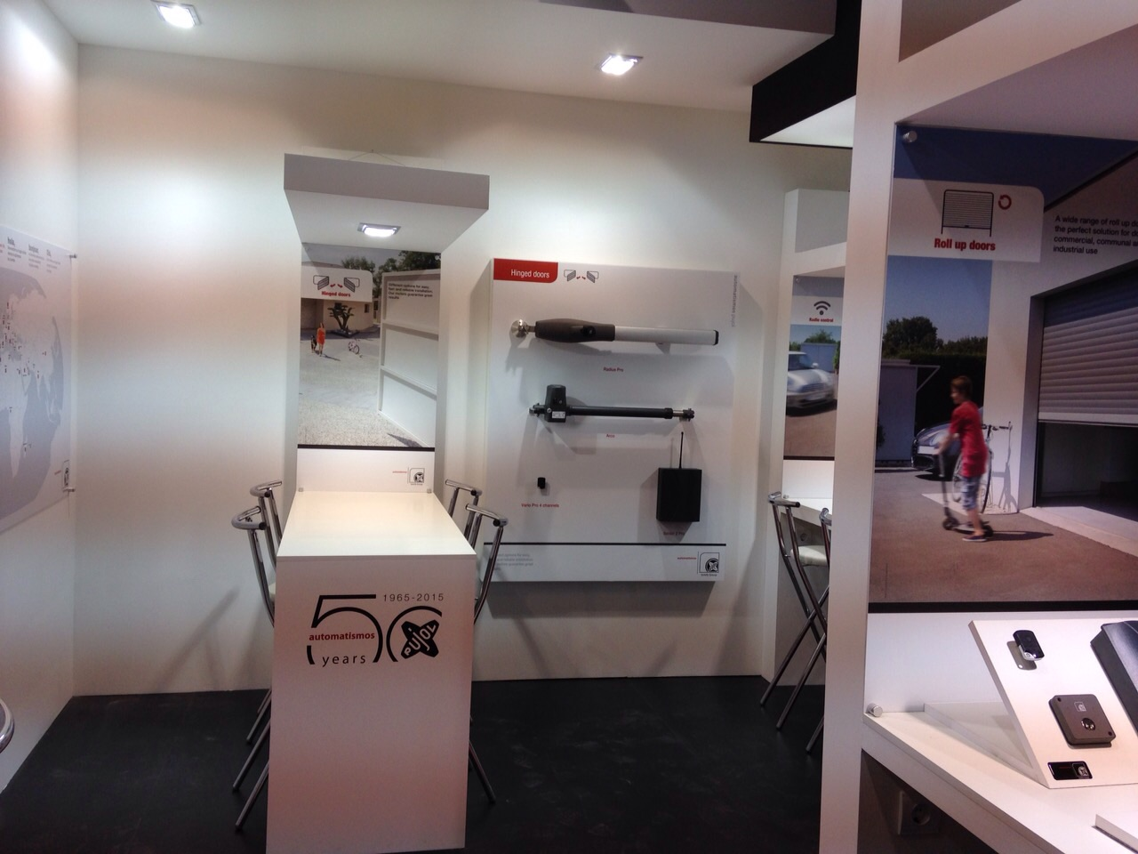 Diseño Stand Somfy