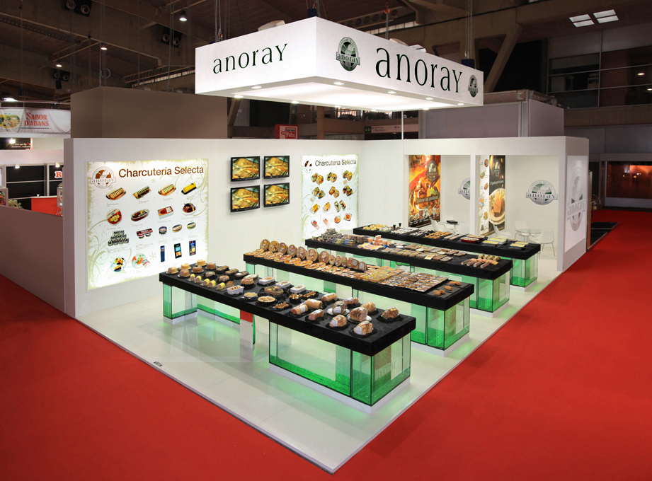 ANORAY, ALIMENTARIA, MADRID 2012 (2)